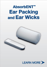 Ear Packing and Ear Wicks